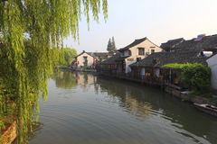 Paisaje de Xitang Fotos de archivo libres de regalías