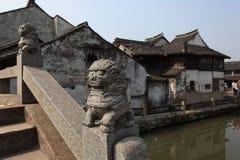 Paisaje de Xitang Fotos de archivo