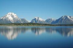 Paisaje de Yellowstone Foto de archivo libre de regalías