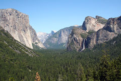 Paisaje de Yosemite Foto de archivo libre de regalías