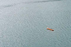 Paisaje de Yunnan, China, lago Lugu Foto de archivo