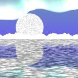 Paisaje del ártico Nevado Foto de archivo