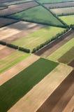 Paisaje del aire Foto de archivo libre de regalías