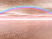 Paisaje del arco iris Fotografía de archivo libre de regalías