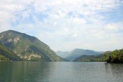 Paisaje del barranco del río de Drina Imágenes de archivo libres de regalías