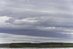 Paisaje del beag de la bahía de Dunnet imagen de archivo libre de regalías