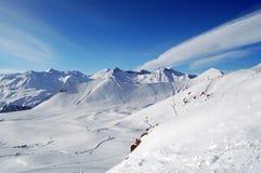 Paisaje del Cáucaso Foto de archivo