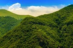 Paisaje del Cáucaso Foto de archivo libre de regalías