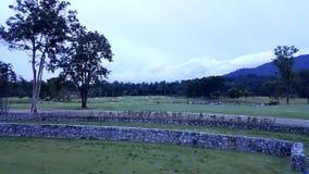 paisaje del campo de golf en el goodday Fotos de archivo libres de regalías