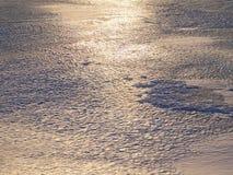Paisaje del campo del invierno fotografía de archivo libre de regalías