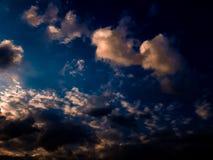 Paisaje del cielo Imágenes de archivo libres de regalías