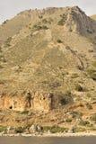Paisaje del Cretan Fotos de archivo libres de regalías
