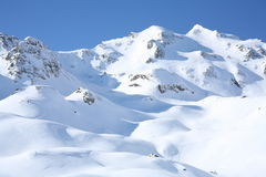 Paisaje del día del sol del invierno Fotos de archivo libres de regalías