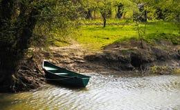 Paisaje del delta de Danubio Fotografía de archivo