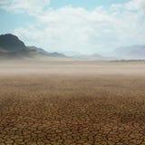 Paisaje del desierto ilustración del vector