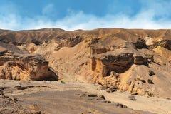 Paisaje del desierto de Faran Fotos de archivo