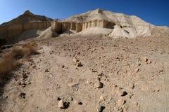 Paisaje del desierto de Judea foto de archivo libre de regalías