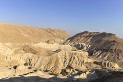 Paisaje del desierto de Judea. foto de archivo