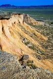 Paisaje del desierto de Navarra Fotografía de archivo
