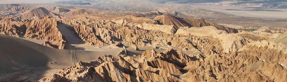 Paisaje del desierto del valle de Marte Imagenes de archivo