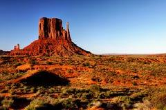 Paisaje del desierto en Arizona, valle del monumento Foto de archivo
