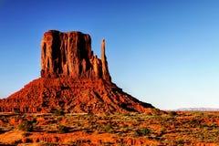 Paisaje del desierto en Arizona, valle del monumento Foto de archivo libre de regalías