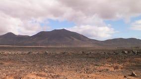 Paisaje del desierto, Lanzarote, islas Canarias Fotos de archivo