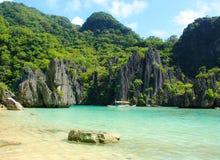 Paisaje del EL Nido Isla de Palawan filipinas Fotografía de archivo