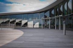 Paisaje del espacio abierto del tejado Imagen de archivo