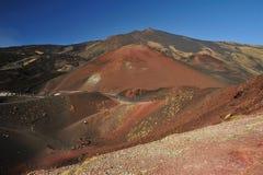 Paisaje del Etna Fotografía de archivo