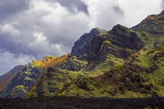 Paisaje del Etna Imagen de archivo