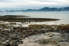 Paisaje del fiordo Imagenes de archivo