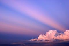 Paisaje del fondo del cielo Foto de archivo libre de regalías