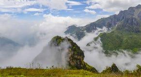 Paisaje del general del hierro de Yunnan Dongchuan fotos de archivo libres de regalías