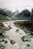 Paisaje del glaciar Fotos de archivo