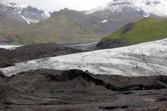 Paisaje del glaciar de Islandia foto de archivo