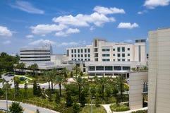 Paisaje del hospital Imágenes de archivo libres de regalías