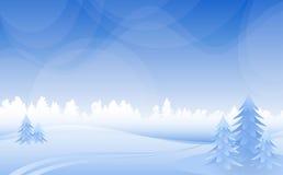 Paisaje del invierno. libre illustration