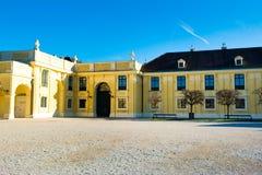 Paisaje del invierno del Burg de Neue fotos de archivo
