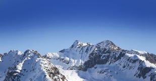 Paisaje del invierno, Francia Imagen de archivo libre de regalías
