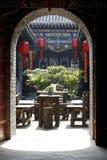 Paisaje del jardín antiguo. Imagen de archivo libre de regalías