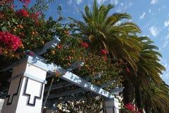 Paisaje del jardín de Andalucía España Imagen de archivo