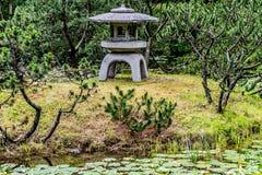 Paisaje del jardín del zen Fotografía de archivo