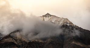 Paisaje del ladakh del leh, la India Imagen de archivo libre de regalías