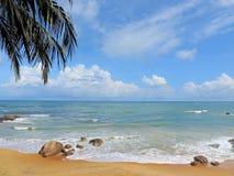 Paisaje del lado de mar imagen de archivo