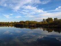 Paisaje del lago Imágenes de archivo libres de regalías