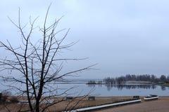 Paisaje del lago Foto de archivo libre de regalías