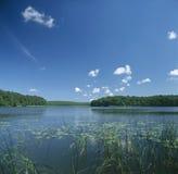 Paisaje del lago Foto de archivo