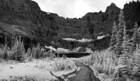 Paisaje del lago iceberg en infrarrojo Imagen de archivo libre de regalías