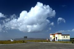 Paisaje del lago Qinghai Imagen de archivo libre de regalías